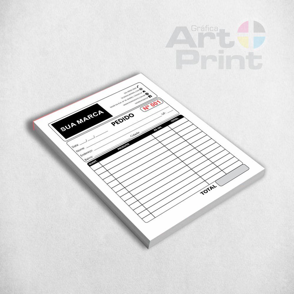 Bloco impresso
